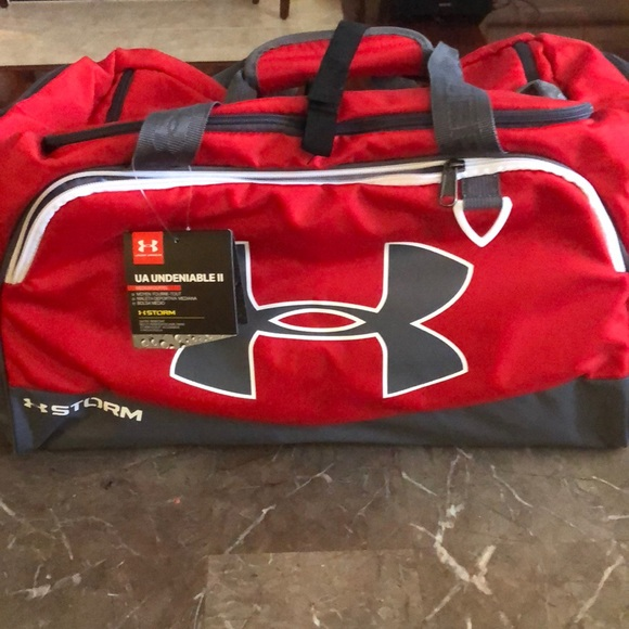 5ce400b09bb red under armour undeniable ii medium duffle bag best website 1ddb9 bddc0